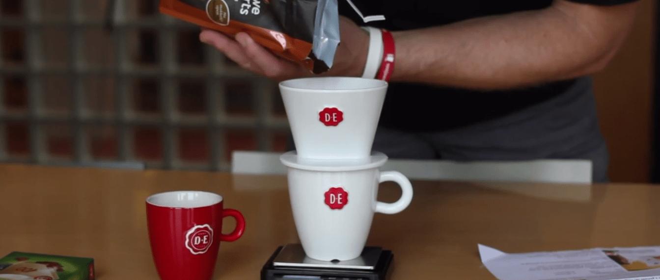 Test koffiefilter op reis DE