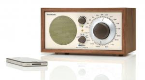 Retro radio met bluetooth