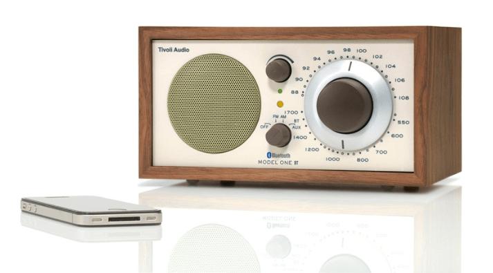 Retro radio met bluetooth
