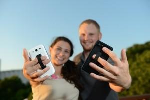 SlingGrip houdt je telefoon in de buurt