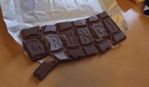 Chocolade met een crunch