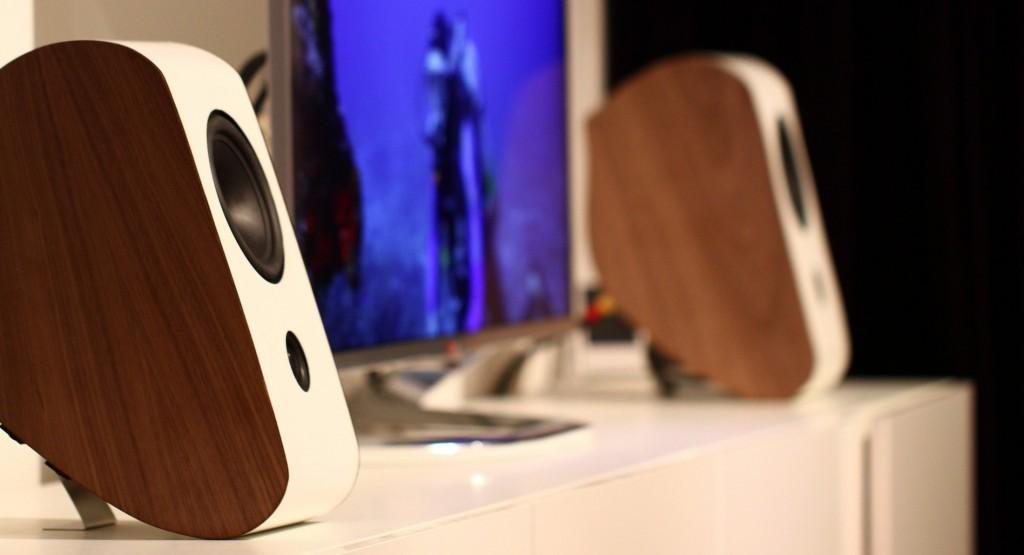 High-end speaker test