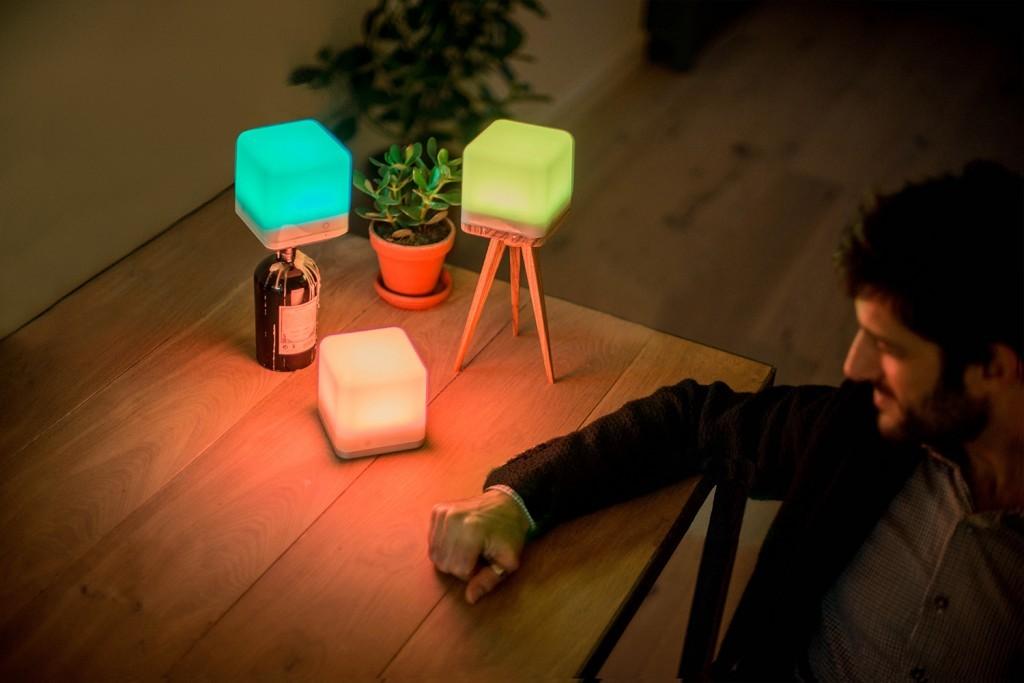Draadloze LED-lamp