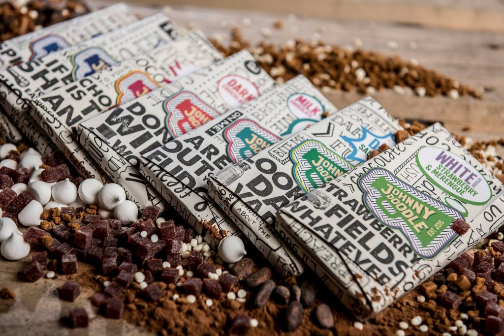 Johnny Doodle chocolade
