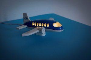 Nachtjeslampje KLM