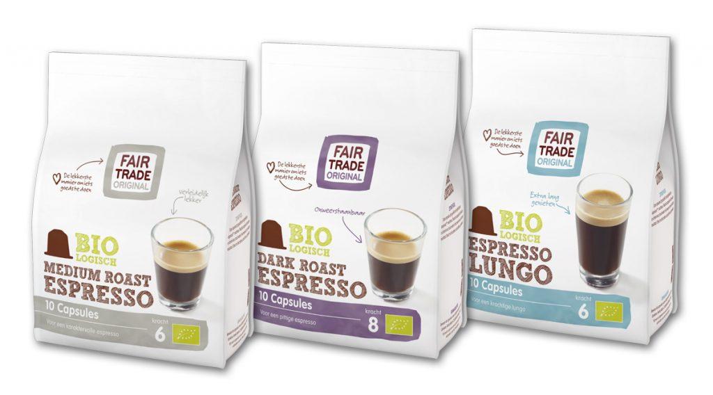 Koffiecups van Fair Trade Original