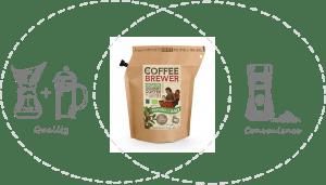 Koffie uit een zakje