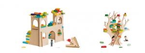 Lego bouwplaten van Brikkon