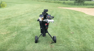 Elektronische golf trolley