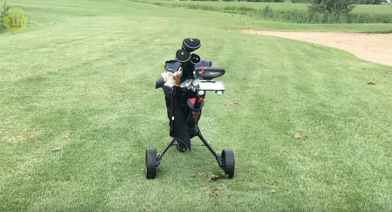 Elektronische golf trolley