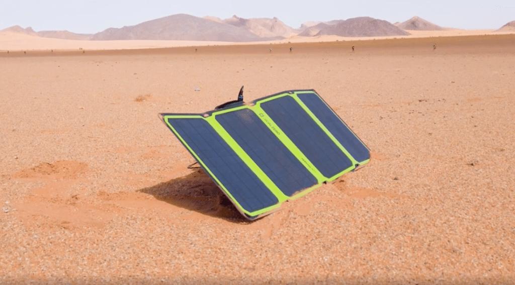 GoalZero powerbank met zonnepaneel