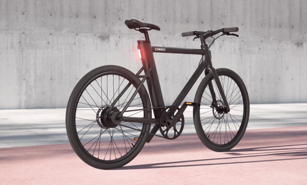 Een hippe Belgische e-bike die Cowboy heet