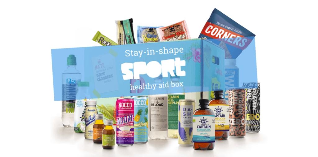 Een box vol gezonde producten