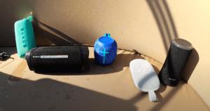 Test waterdichte bluetooth speakers